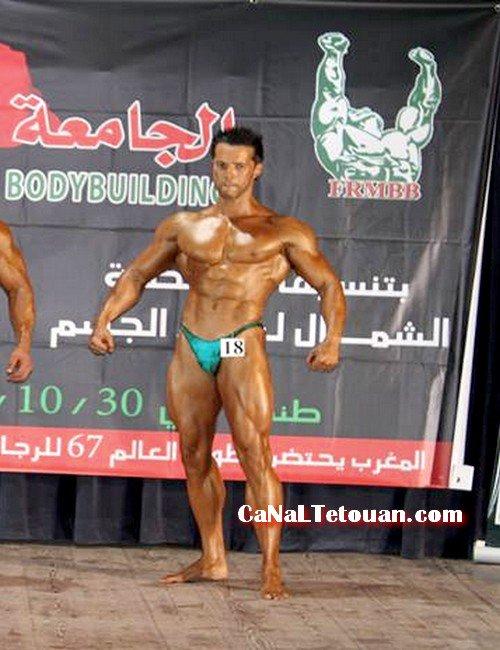 *said riyani سعيد الرياني بطل كمال الأجسام عصبة الشمال المغرب تطوان